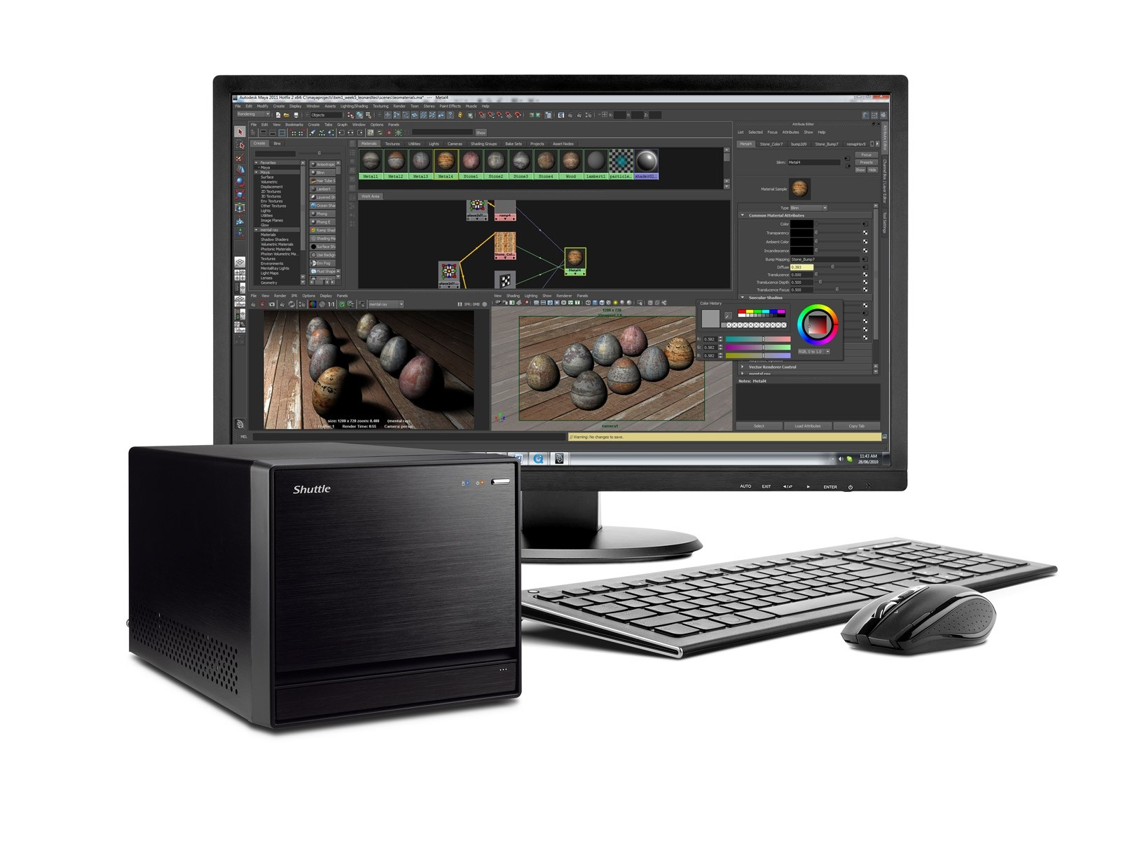 Shuttle XPC R8 2710S - 3D Workstation