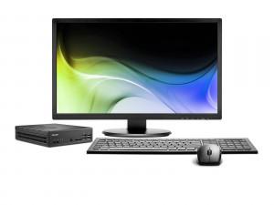 Shuttle Slim - D 1700B  Slim-PC pour triple-écrans