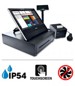 POS X 5040T  All-in-One Fanless pour applications POS ***Fin de vie