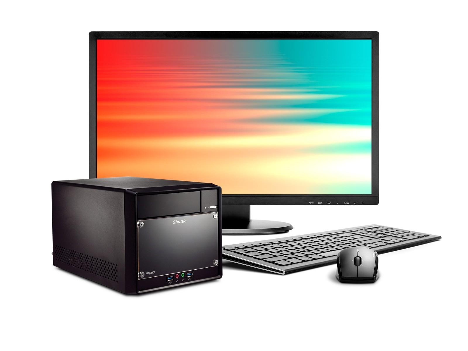Shuttle Mini PC R4 3100B pour processeurs Intel de 8e et 9e génération