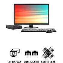 Shuttle Slim PC D3700B  Slim-PC performant pour processeurs hexa-core et trois écrans UHD