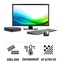 Shuttle Slim D1150B - Robust Slim PC for powerful Skylake processors