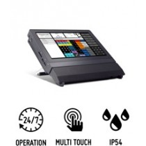 Shuttle P2000T - PC All-in-One compact pour points de vente caisse et applications professionnelles