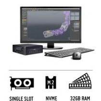 Shuttle Slim PC X4120S - 3D Workstation