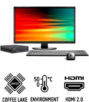 Shuttle Slim PC D3100B  Slim-PC performant pour processeurs Intel Coffee Lake
