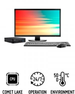 Shuttle Slim PC D4100B - Slim-PC performant pour processeurs Intel Core de 10e génération