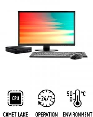 Shuttle Slim PC D4110B - PC au format slim pour processeurs Intel Core de 10e génération
