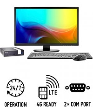 Shuttle Slim PC DL1000B Slim-PC fanless compact avec option 4G