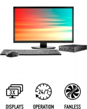 DS1000B Series Intel i3/ i5/ i7 PC fanless de seulement 1,3 litre pour processeurs Intel Whiskey Lake