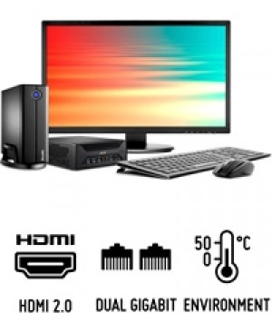Shuttle Slim PC X3100B  Slim-PC de 3 litres polyvalent pour (presque) toutes les applications